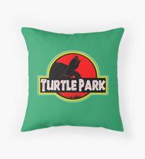 Turtle Park (#2) Throw Pillow
