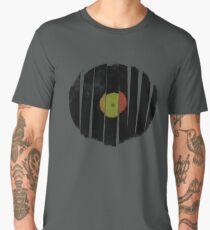 Cool Broken Vinyl Record Grunge Vintage Men's Premium T-Shirt