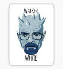 Walker White Sticker