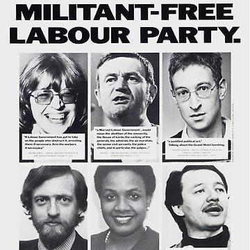 Militant Labour Party  by KosmonautLaika