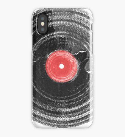 Vinyl Record Vintage Grunge Retro iPhone Case/Skin