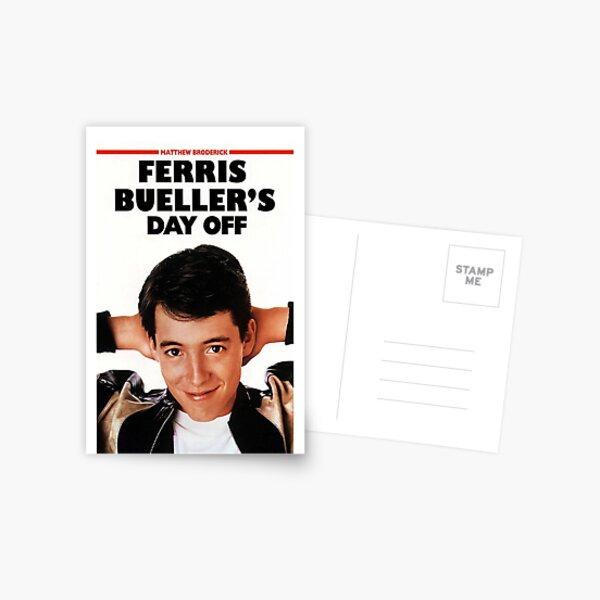 Ferris Bueller's day off  Postcard