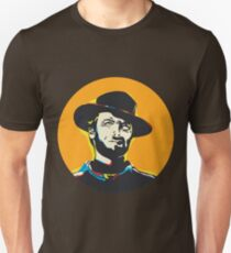 Clint Eastwood Pop Art Portrait T-Shirt