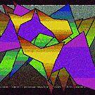 Jagged Shapes by Deborah Dillehay
