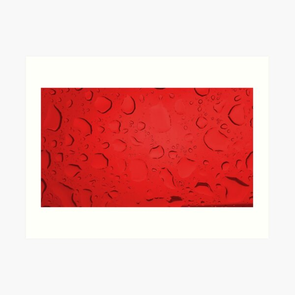 Molten Red Art Print