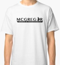 McGregor Sports and Entertainment T Shirt Classic T-Shirt