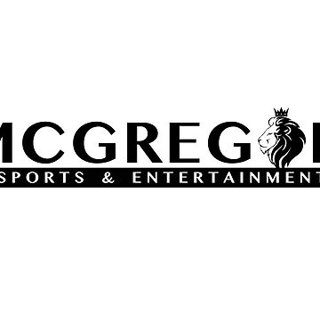McGregor Sports and Entertainment T Shirt by ckgoat3