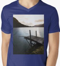On the Mountain River Dock T-Shirt