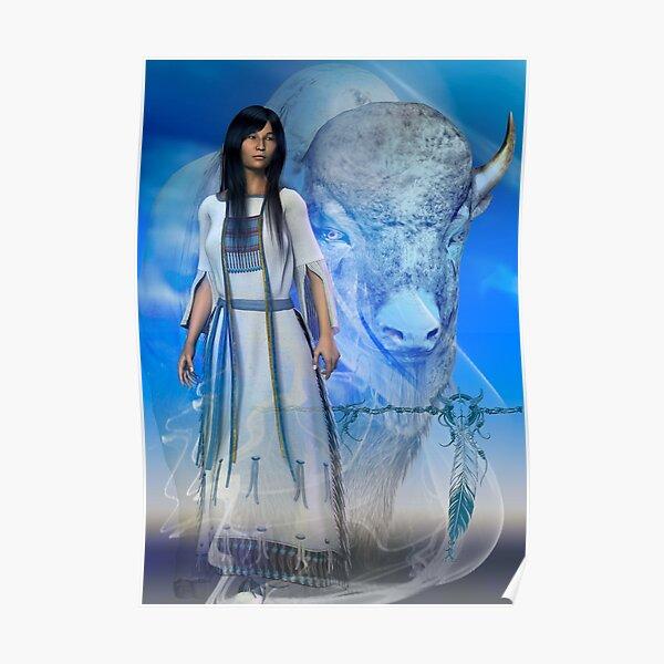 White Buffalo Woman 3 Poster