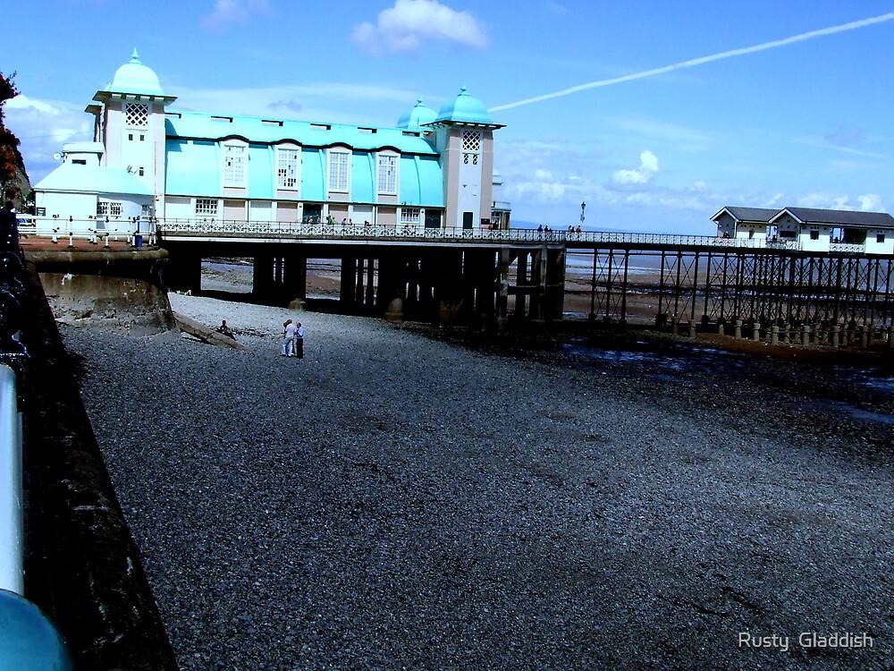 Pennarth Pier Circa 1895 South West Wales (UK) by Rusty  Gladdish