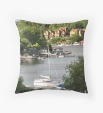 Kenora Marinas Throw Pillow