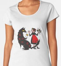 What's the time, Mr Wolf Women's Premium T-Shirt