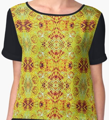 Zen- I Am Sun-Centered Women's Chiffon Top