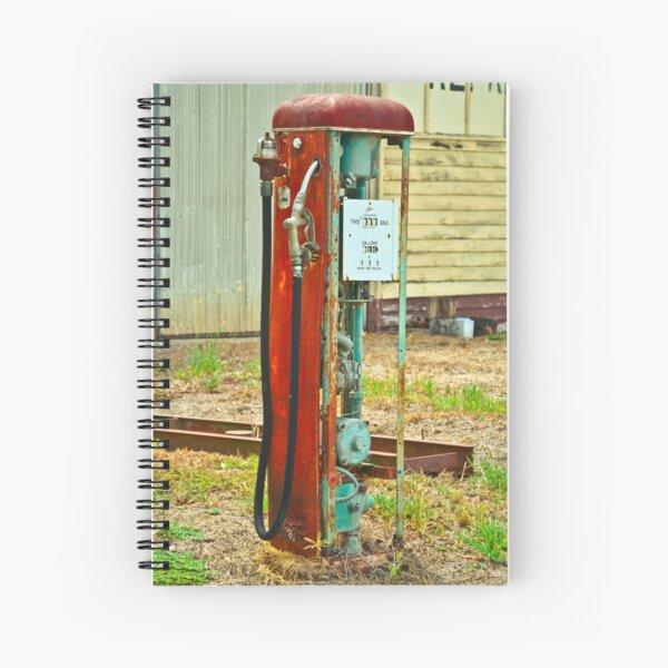 Old Gas Spiral Notebook