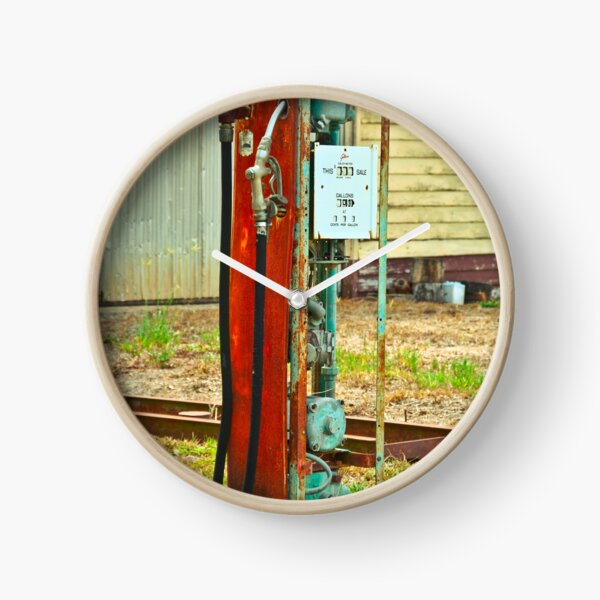 Old Gas Clock