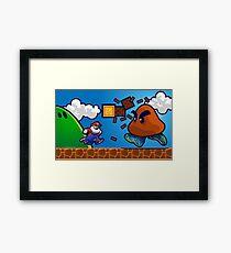Air Glorio Bros Framed Print