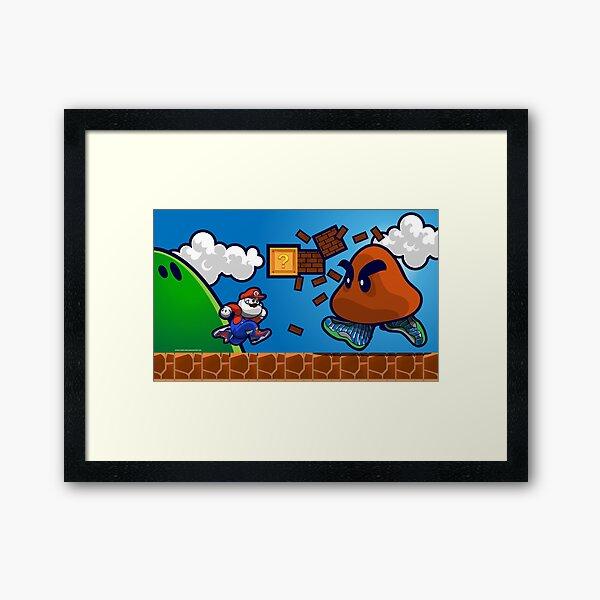 Air Glorio Bros Framed Art Print