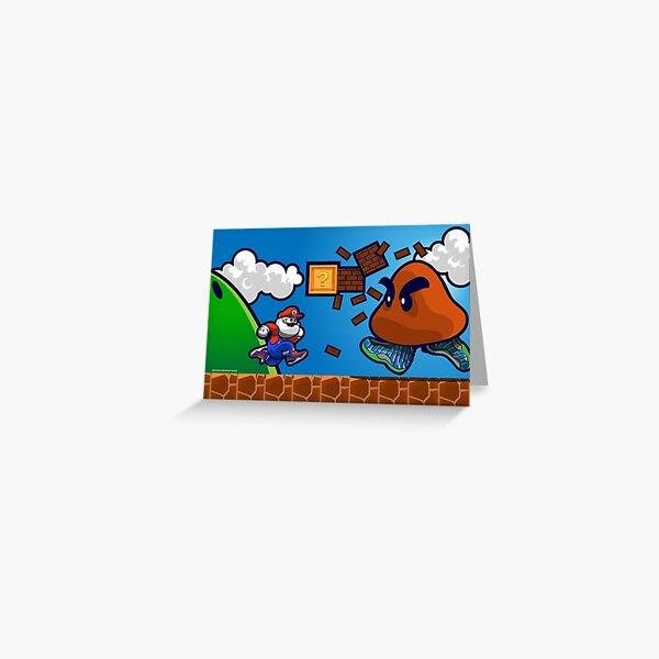 Air Glorio Bros Greeting Card