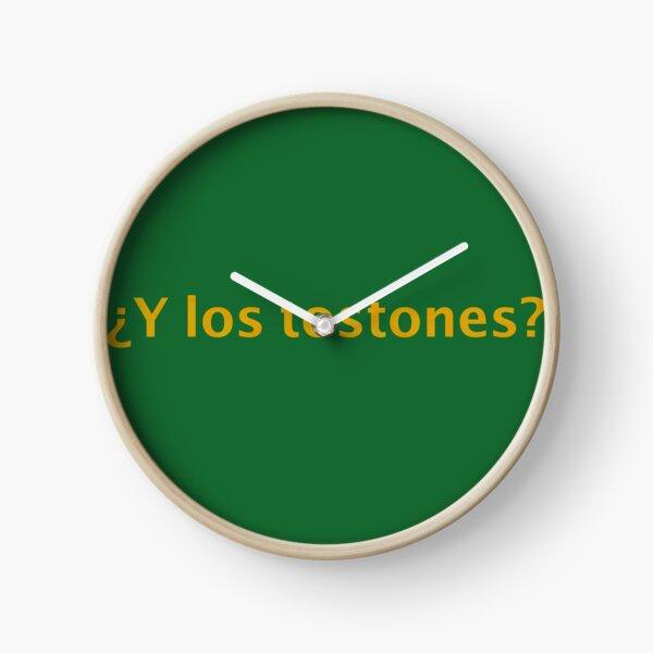 ¿Y los tostones? for plantian lovers Clock