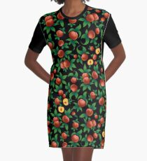 Peaches Graphic T-Shirt Dress