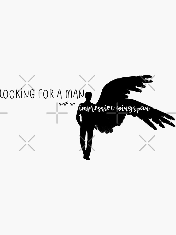 Looking For A Man With An Impressive Wingspan by FoxGroves