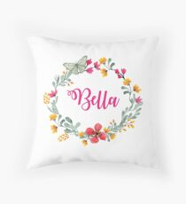 Personalised #2 Throw Pillow