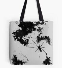 Grunge Spider Tote Bag