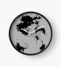 Grunge Spider Clock