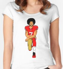 good fooftball Women's Fitted Scoop T-Shirt