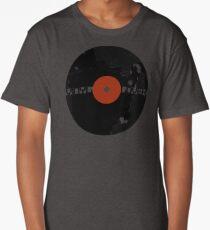Vinyl Records Lover - Grunge Vinyl Record Long T-Shirt