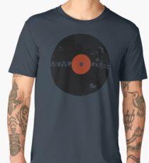 Vinyl Records Lover - Grunge Vinyl Record Men's Premium T-Shirt