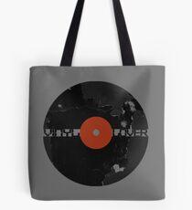 Vinyl Records Lover - Grunge Vinyl Record Tote Bag