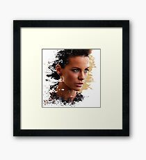 Kate Beckinsale Framed Print