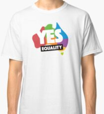 yes vote in marriage equality Classic T-Shirt