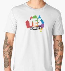 yes vote in marriage equality Men's Premium T-Shirt