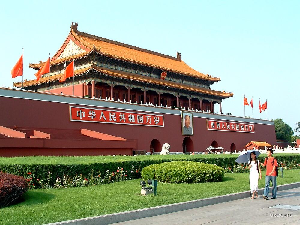 Tiananmen Gate by ozecard