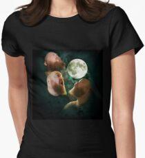 3 Wolfe Moon - Wear Me Women's Fitted T-Shirt
