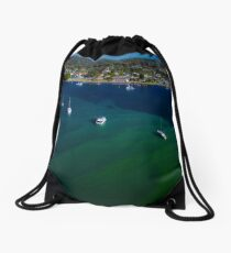 Water Ripples Drawstring Bag