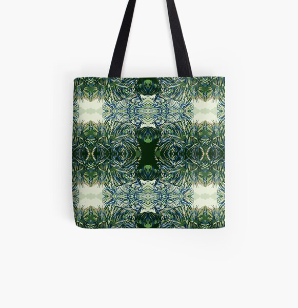 Tropic Palms All Over Print Tote Bag