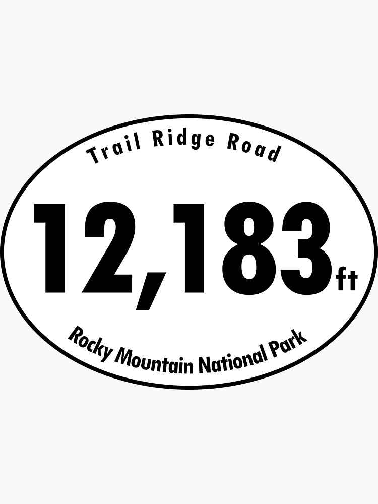 Trail Ridge Road Elevation Rocky Mountain National Park by hilda74