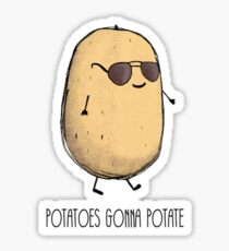 Potato Sticker