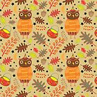Halloween Hooty by Sharon Bloom
