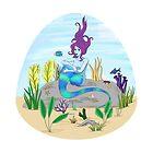Sea Serpent Mermaid   by DammiDuck