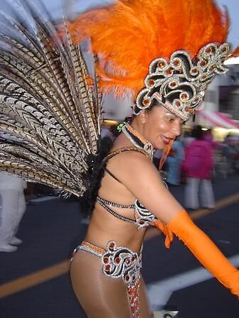 Brazilian Dancer  by satsumagirl