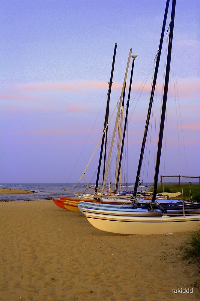 Iddle sailboats by rakiddd