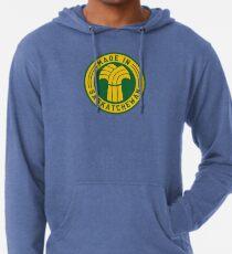 Made in Saskatchewan Logo (Gold & Green) Lightweight Hoodie