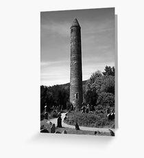 Round Towers Of Ireland Greeting Card