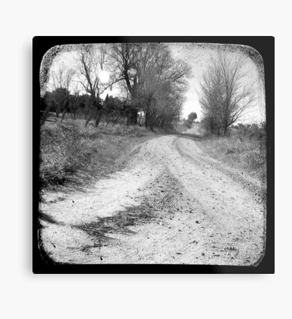 Dirty Back Road Metal Print