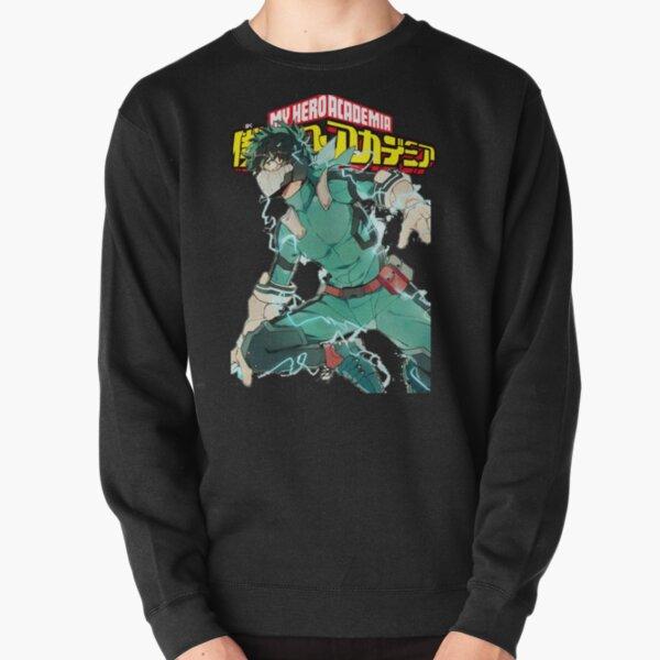 Deku Full Cowl-My hero Academia Pullover Sweatshirt