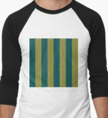 Pelican Sky Stripes —  Shaded Spruce and Golden Lime T-Shirt